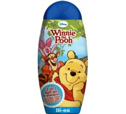 Disney Winnie the Pooh 2 in 1 bagno shampoo 250 ml