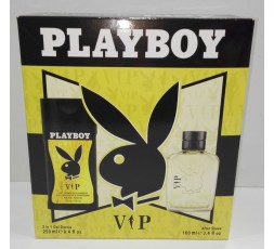 Play Boy conf. VIP after shave 100ml + gel doccia 2in1