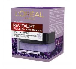 L'Oreal Revitalift Filler Maschera Viso notte Rinpolpante 50 ml.