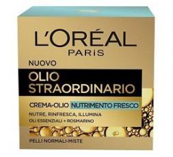 L'Oreal Olio Straordinario Crema Olio Viso Nutrimento fresco 50 ml