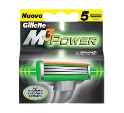 GILLETTE Lame di ricambio Trilame M3 Power Gillette