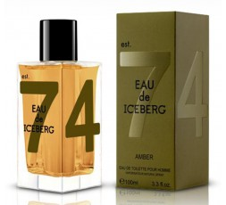Iceberg 74 Eau de Iceberg  Amber 100 ml. edt. Spray