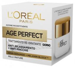 L'Oreal AGE PERFECT TRATTAMENTO RE-IDRATANTE GIORNO 50 ML.