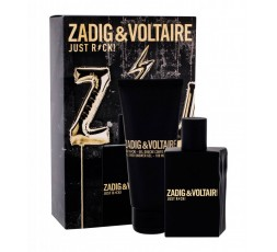 Zadig & voltaire Just Rock Cofanetto edt. 50 ml. Spray & bagnoschiuma