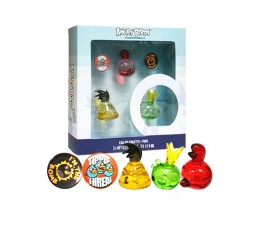 Angry Birds Tre Miniature edt. & Spille Cofanetto