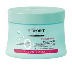 Biopoint Pure & Fresh Maschera Capelli Normali e Fini 250 ml.
