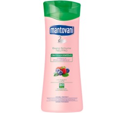 Mantovani Bagno Schiuma Fragoline e Mirtilli 400 ml