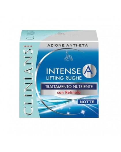 Clinians Intense A Lifting Rughe Con Retinolo 50 ml Notte