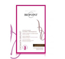 biopoint cromatix brunet color mask cioccolato dorato