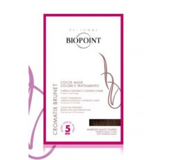 biopoint cromatix brunet color mask marron glace chiaro