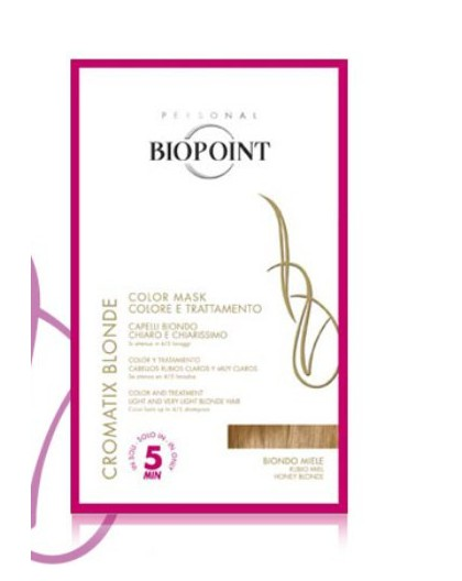 biopoint cromatix blonde color mask biondo miele