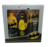 Batman Conf. Doccia Shampoo 250 ml + Dentifricio 25 ml + Spazzolino + Bracciale