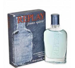 Replay Jeans Spirit Uomo Eau De Toilette 50 ml Vapo
