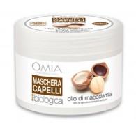 Omia Maschera Capelli eco biologico MACADAMIA  250 ml