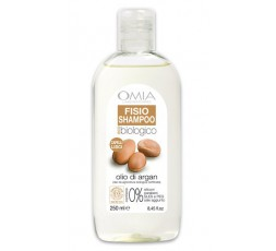 Omia Shampoo Capelli lisci eco biologico ARGAN  250 ml