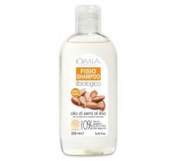 Omia Shampoo Capelli Forti eco biologico SEMI di LINO  250 ml