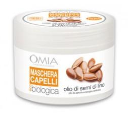 Omia Maschera Capelli eco biologico SEMI di LINO  250 ml
