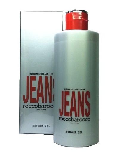 rocco barocco jeans donna shower gel 400 ml