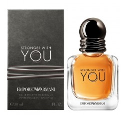 ARMANI STRONGER WITH YOU POUR HOMME EDT 30 ML VAPO