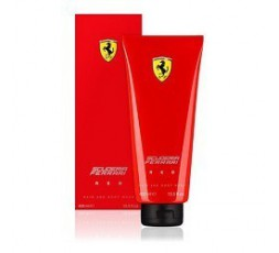 FERRARI SCUDERIA RED HAIR AND BODY 400 ML