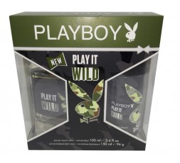 Play Boy conf. Wild edt 100ml + deodorante spray 150ml