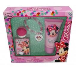 Minnie conf. edt 30ml + gel doccia 60ml + bracciale