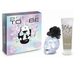 POLICE TO BE ROSE BLOSSOM FOR WOMAN COFFRET EDP 75ML+B/L100ML