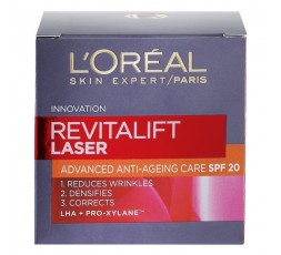 L'Oreal Paris Revitalift Laser X3 Crema viso anti-eta' SPF 20 50 ml