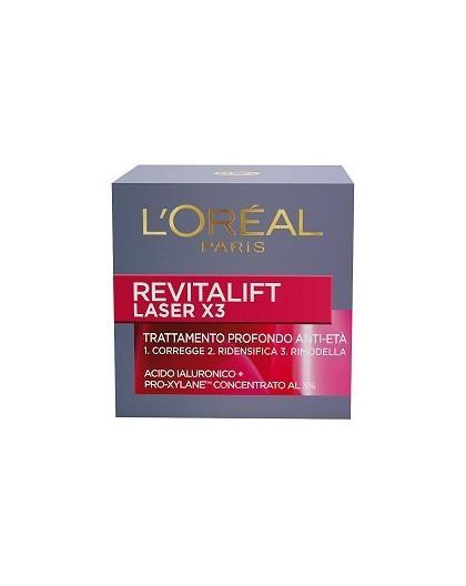 L'Oreal Trattamento Profondo Anti EtaExpertise Revitalift Crema x3 Laser 15 ml.