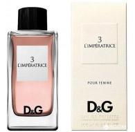 Dolce & Gabbana 3 L'imperatrice edt. 100 ml. Spray