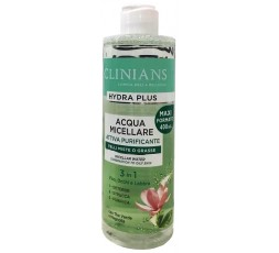 Clinians Acqua Micellare Hydra Plus 3in1  pelli miste o grasse 400 ml