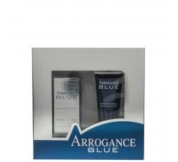 ARROGANCE BLUE COFANETTO EDT 30 ML VAPO + DEO SPRAY 150 ML.
