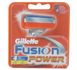 Gillette Ricariche Fusion Power 4 pz Gillette