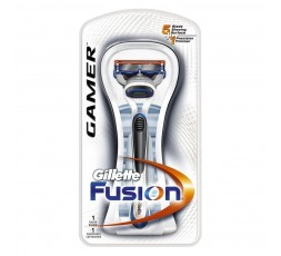 GILLETTE Rasoio Gillette Fusion Gamer a 5 lame