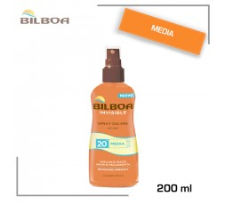 BILBOA INVISIBILE SPRAY NO GAS SPF20 200 ML