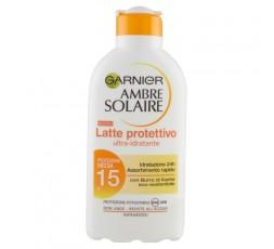 GARNIER AMBRE SOLAIRE LATTE FP.15 PROTETTIVO 200 ML