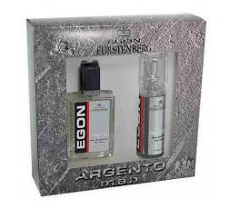 Egon Fustenberg ARGENTO men 100ml + Deo Spray 150 ml
