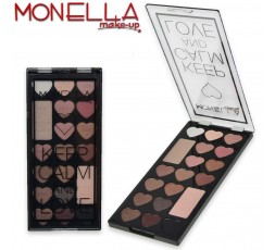 Monella trousse make-up keep calm & love