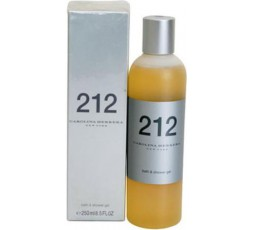 carolina herrera 212 shower gel