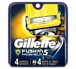 GILLETTE Fusion ProShield -POWER  4 Lame Di Ricambio