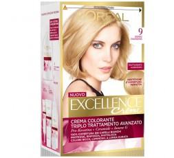 Excellence Creme Crema Colorante 9 Biondo Chiarissimo