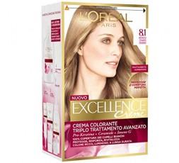 Excellence Creme Crema Colorante 8.1 Biondo Chiaro Cenere
