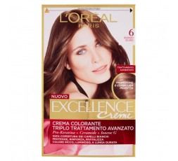 Excellence Creme Crema Colorante 6 Biondo Scuro