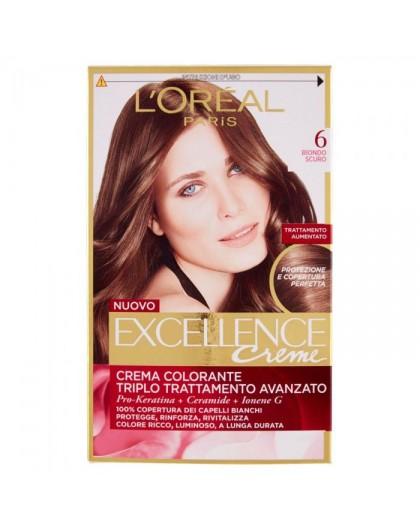 Excellence Creme Crema Colorante 6 Biondo Scuro