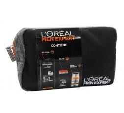 L'oreal conf. Men Expert Gel Doccia + Deodorante Roll On + Crema Idratante