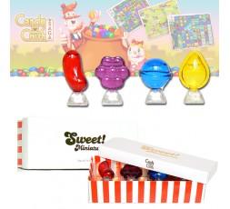 Candy crash Sweet 4 pz. edt. per bambini 5 ml. Spray cofanetto