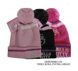 hello Kitty Cappello Nero-rosa -Fukisia Art. 59041