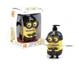 Minions Pirata Bagnoschiuma 3D per bambini 400 ml.