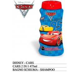 Disney Cars 2 in 1 bagno shampoo 25 ml