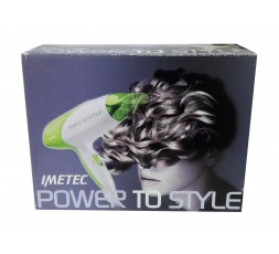Imetec Phon Power To Style 1800W Green